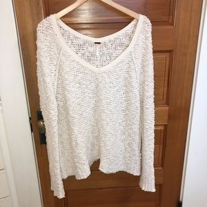 Free People knitted sweater